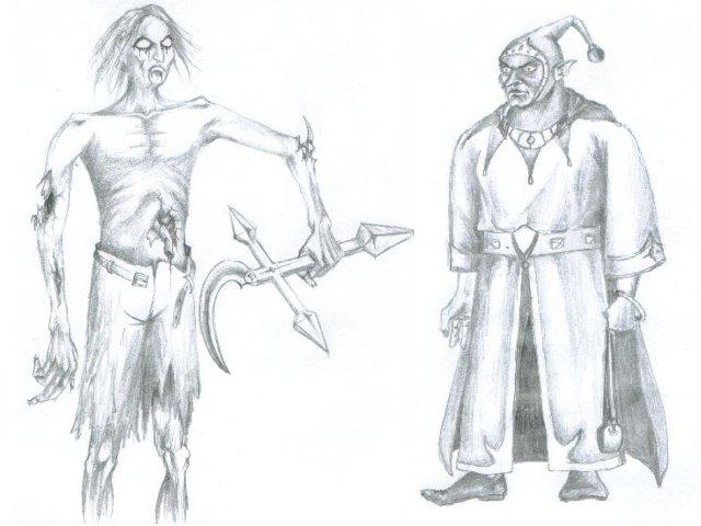 Concept арты Might And Magic Tribute.Раздел игры располагается здесь